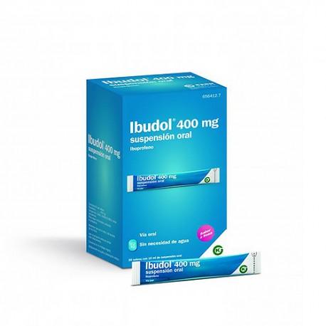 Ibudol 400mg 20 Sobres de Suspensión Oral 10ml