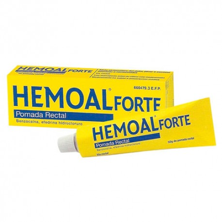 Hemoal Forte Pomada Rectal 50 gr